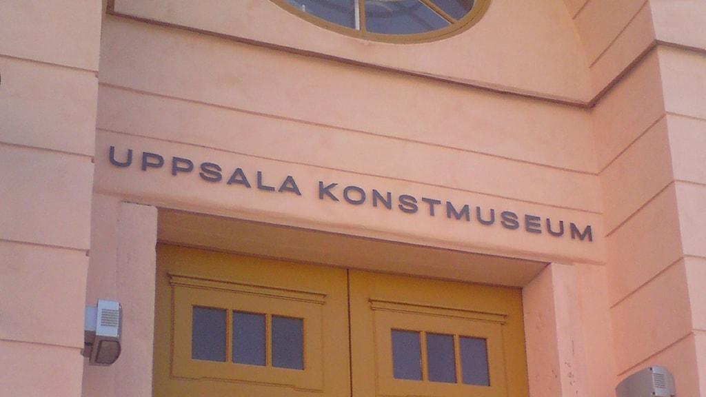 Uppsala konstmuseum. Foto: August Bergkvist/SR.