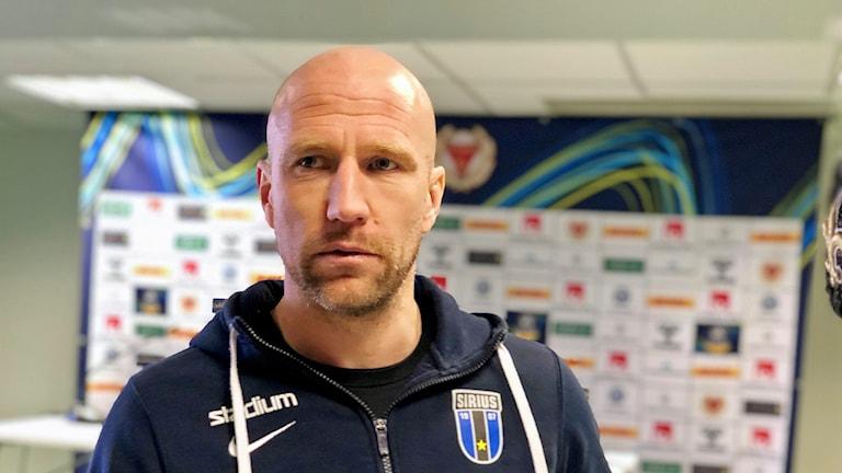Sirius tränare Henrik Rydström