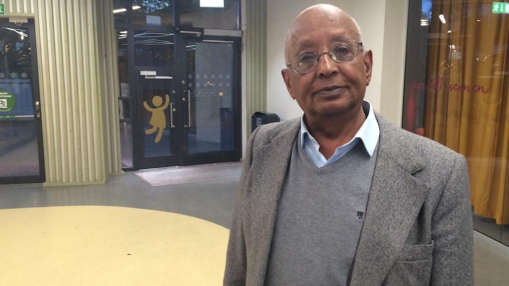 Andargachew Meshesha, vice ordförande Samarbetsorganisationen för invandrarföreningar i Uppsala SIU