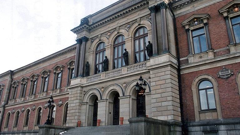 Uppsala Universitet. Foto: Bo Lindell/TT