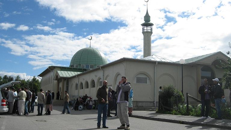 Uppsala moské (Arkivbild) Foto: Elisabeth Terenius/SR