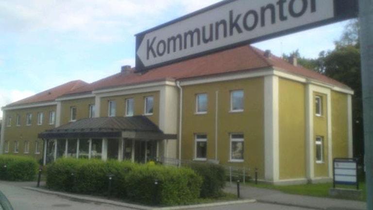 Heby kommunhus. Foto August Bergkvist.