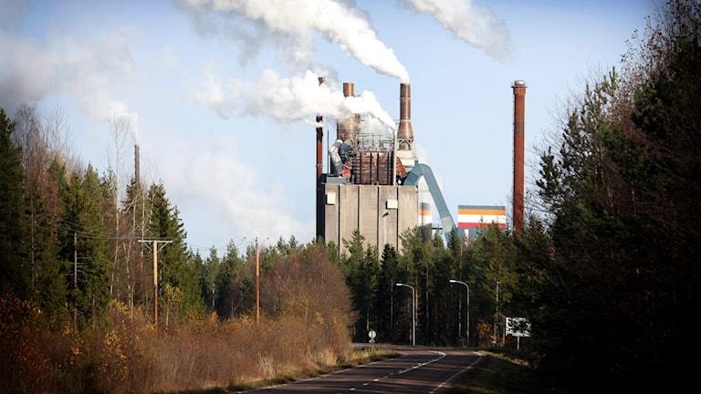 Stora Enso i Skutskär.