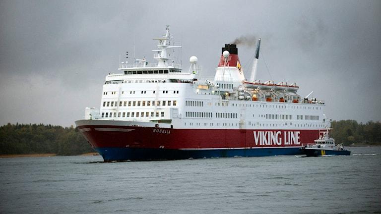 Vikinglines färja Rosella. Foto: Maja Suslin/Scanpix