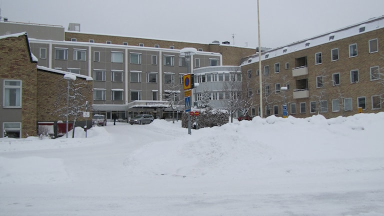 Lasarettet i Enköping. Foto: Tina Halldén
