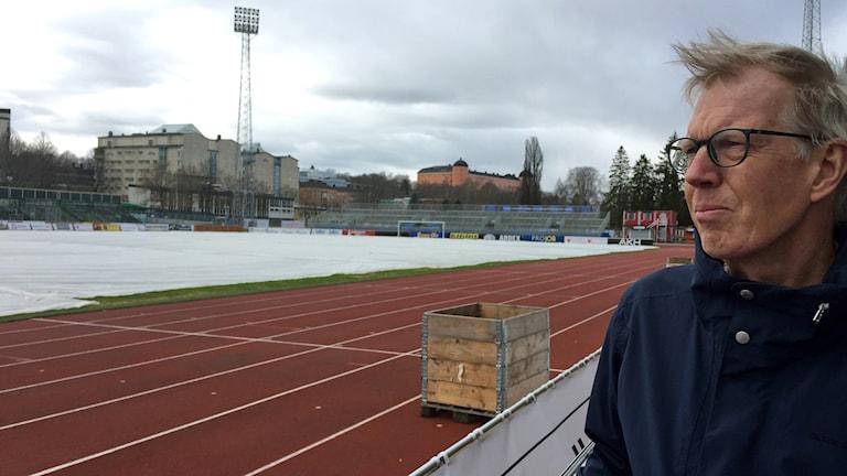 Sten Larsson som är idrottschef på Uppsala kommun