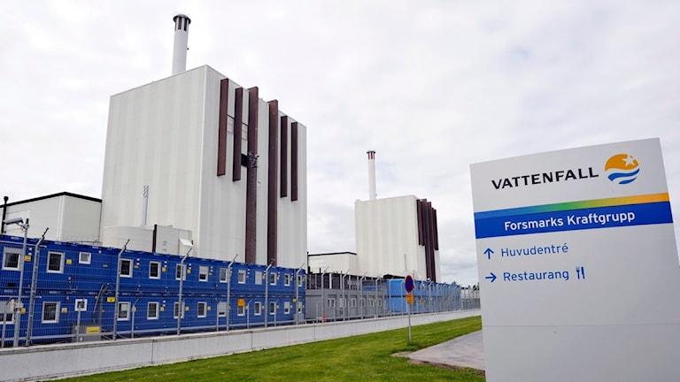 Forsmarks kärnkraftverk. Foto: Bertil Ericson/SCANPIX