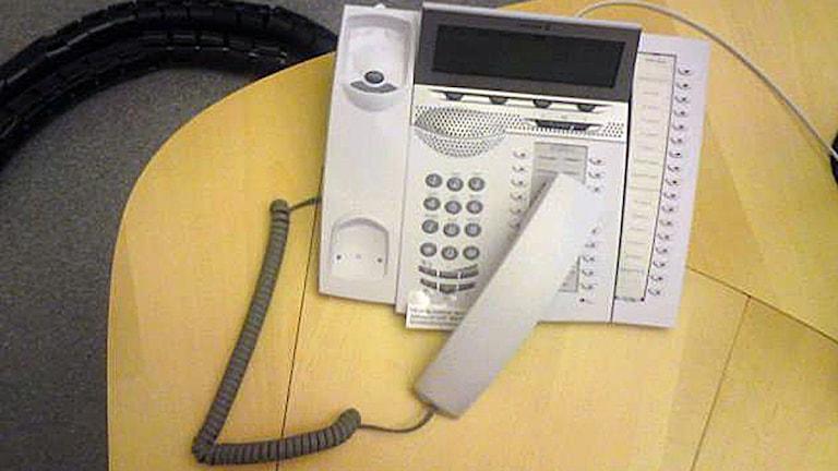 Telefon. Foto: August Bergkvist / SR