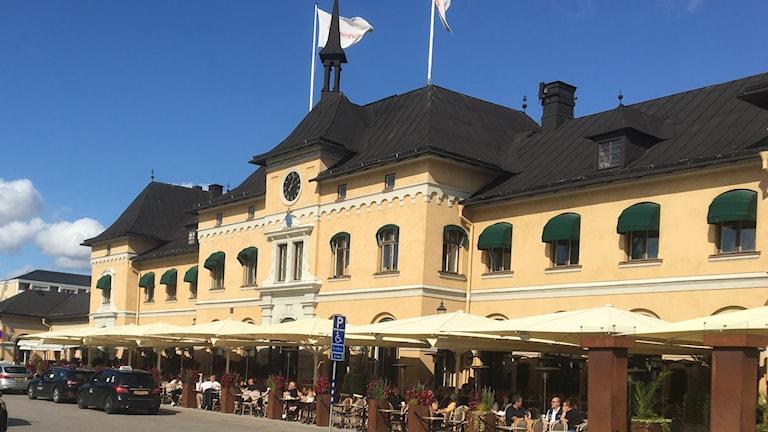 Stationen i Uppsala där Svenssons krogar har en restaurang.