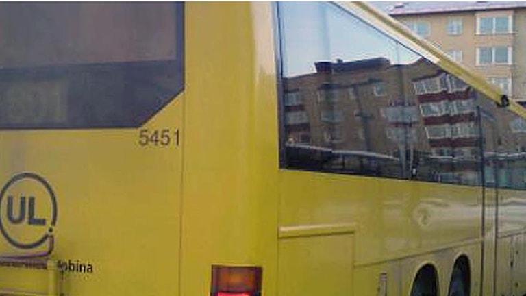 UL-buss (arkivbild). Foto: August Bergkvist / SR