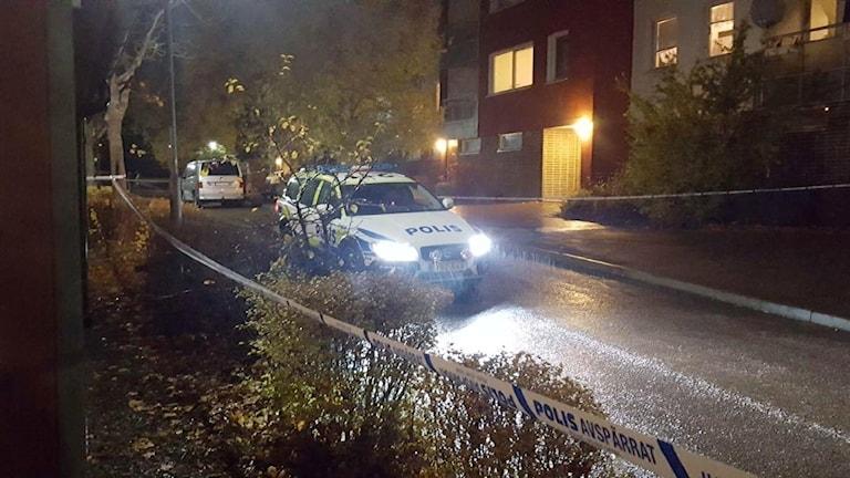 Poliser i Valsätra.