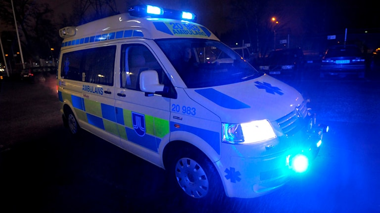 En av Samaritens ambulanser. Foto: Leif R Jansson / Scanpix
