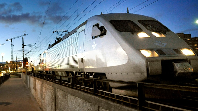X2000. Foto: Tomas Oneborg / Scanpix