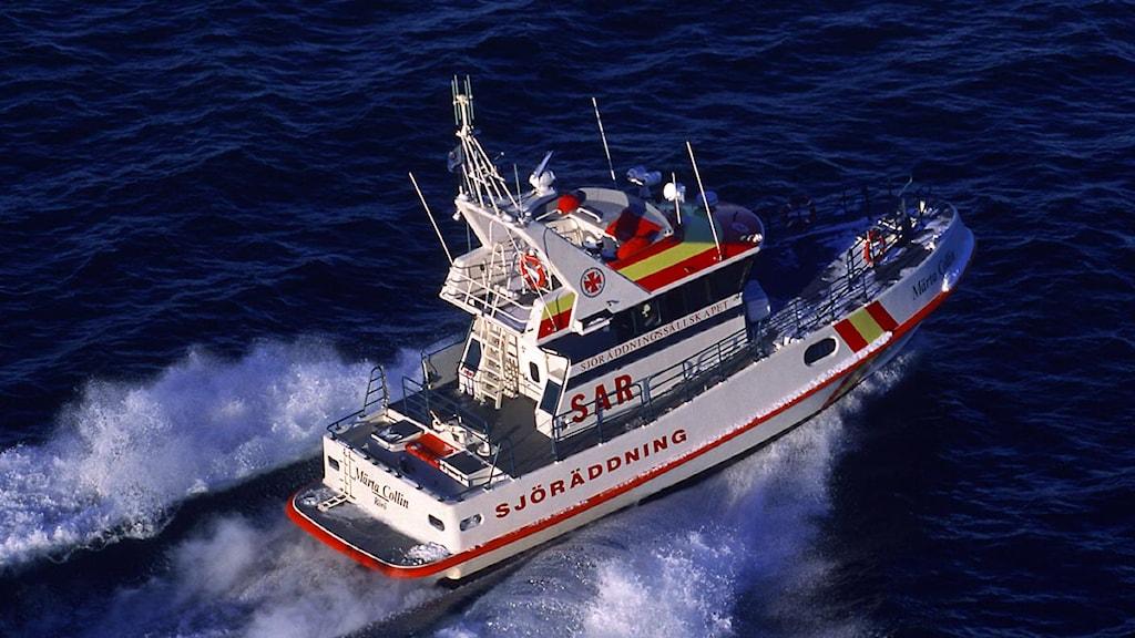 Sjöräddningsbåt. Foto: Sjöräddningssällskapet