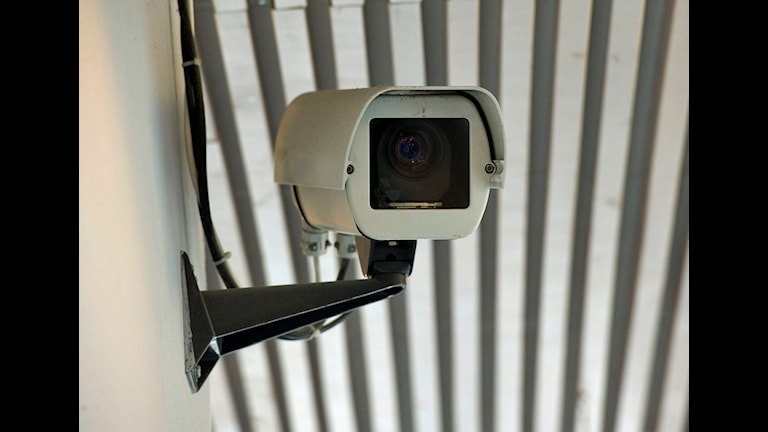 Kameraövervakning. Foto: Fredrik Sandberg/SCANPIX