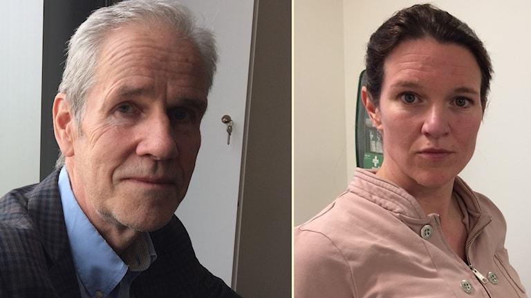 Börje Wennberg (S) och Liberalernas Lina Nordquist