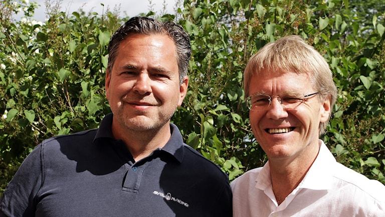 Pär Svärdson & Landshövding Göran Enander