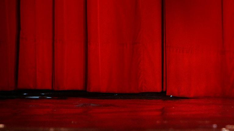 En röd ridå (arkivbild). Foto: Wally Santana / Scanpix