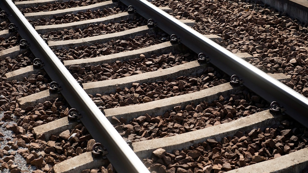 Förseningar i tågtrafiken.
