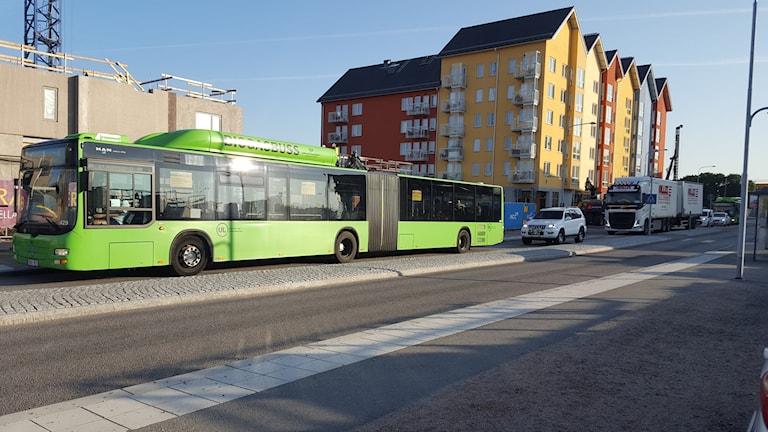 Råbyvägen i Uppsala.