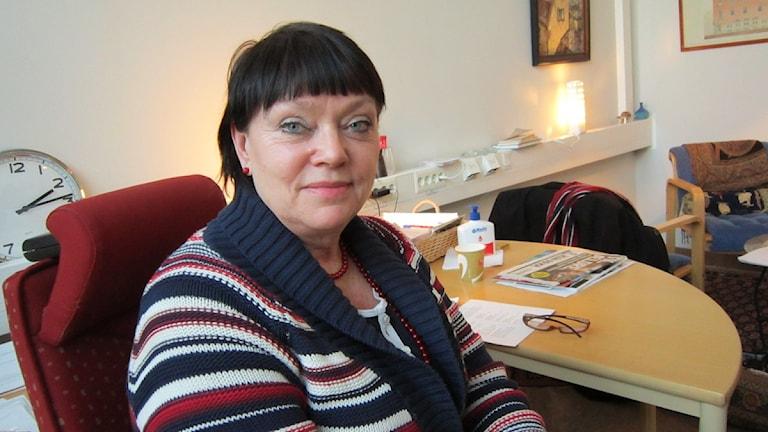 Karin Udénius, äldreombudsman i Uppsala kommun som ska avvecklas.