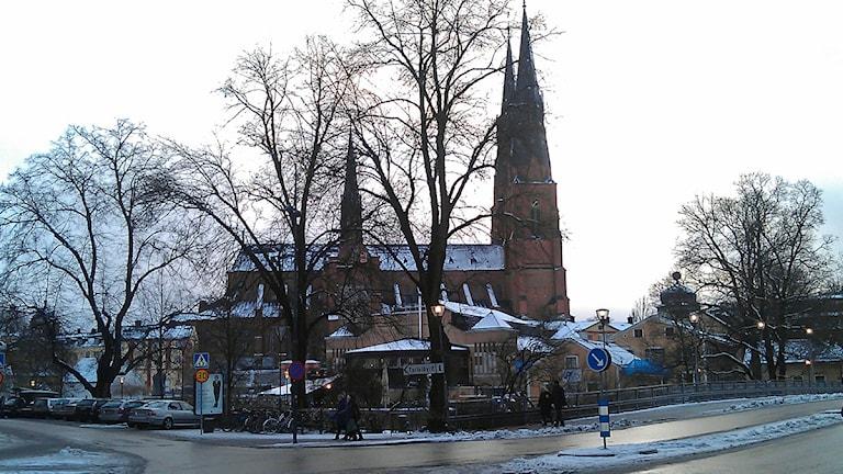 Uppsala domkyrka. Foto: August Bergkvist / SR