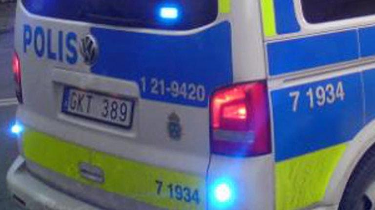 Polisbuss (arkivbild). Foto: August Bergkvist / SR