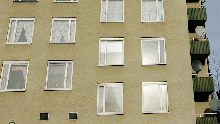 Fasad hyreshus (arkivbild). Foto: Jessica Gow / Scanpix