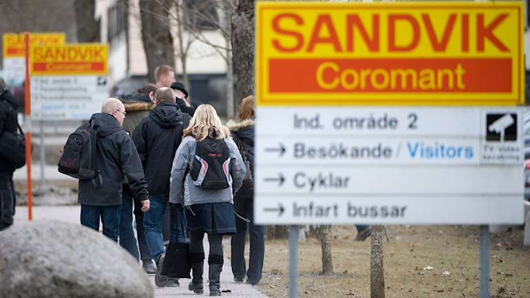 Sandvik Coromant i Gimo. Foto: Fredrik Sandberg / Scanpix
