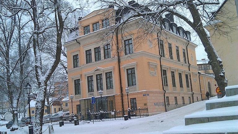 Villa Anna i Uppsala. Foto: August Bergkvist / SR