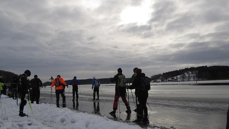 Deltagare i Vikingarännet vid Skokloster. Arkivbild Foto: Elisabeth Terenius