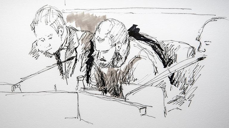 Rättegången mot den 41-årige man från Norduppland som åtalas för sexbrott via nätet avslutas i dag.