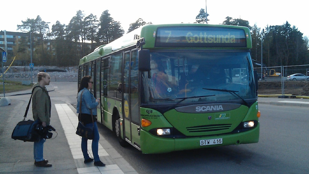 Buss linje 7 Foto Josefin Lilja/SR