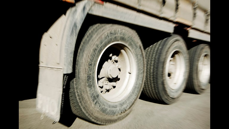 Lastbil. Foto: Erlend Aas / Scanpix