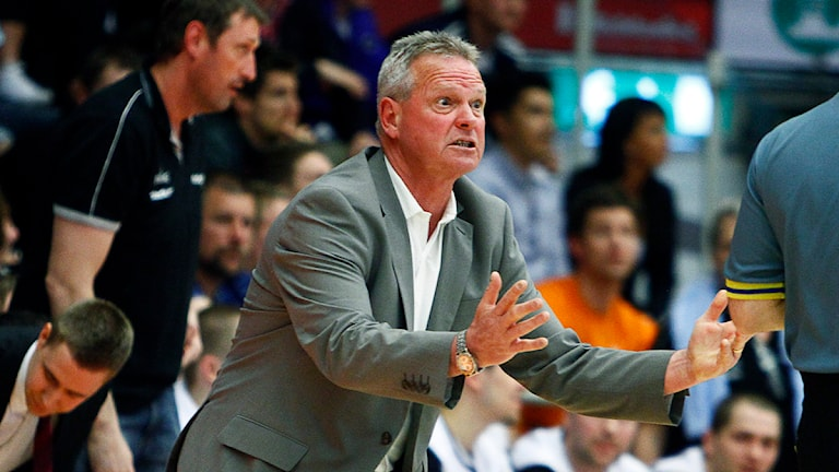 Uppsala baskets coach Kelly Grant (arkivbild) Foto: Stefan Jerrevång/Scanpix
