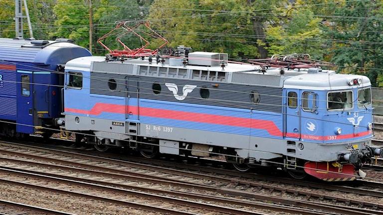 SJ-tåg Foto:Bertil Ericson / SCANPIX
