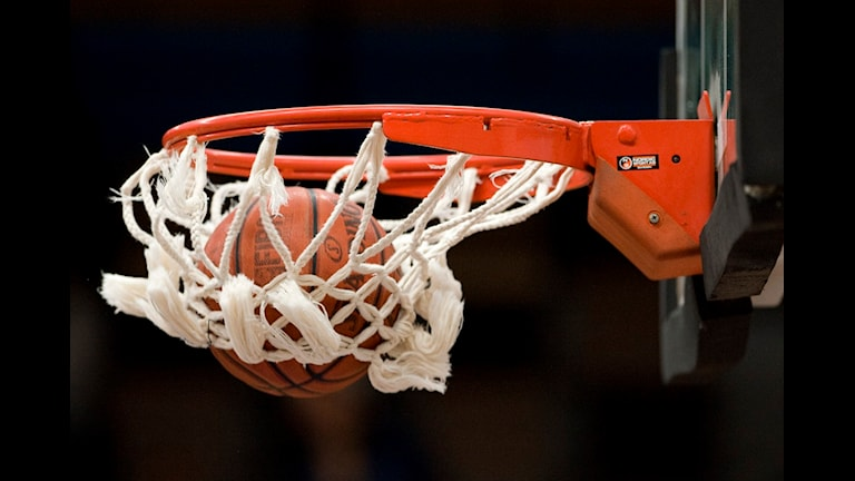 Basketkorg. Foto: Anders Wiklund / Scanpix
