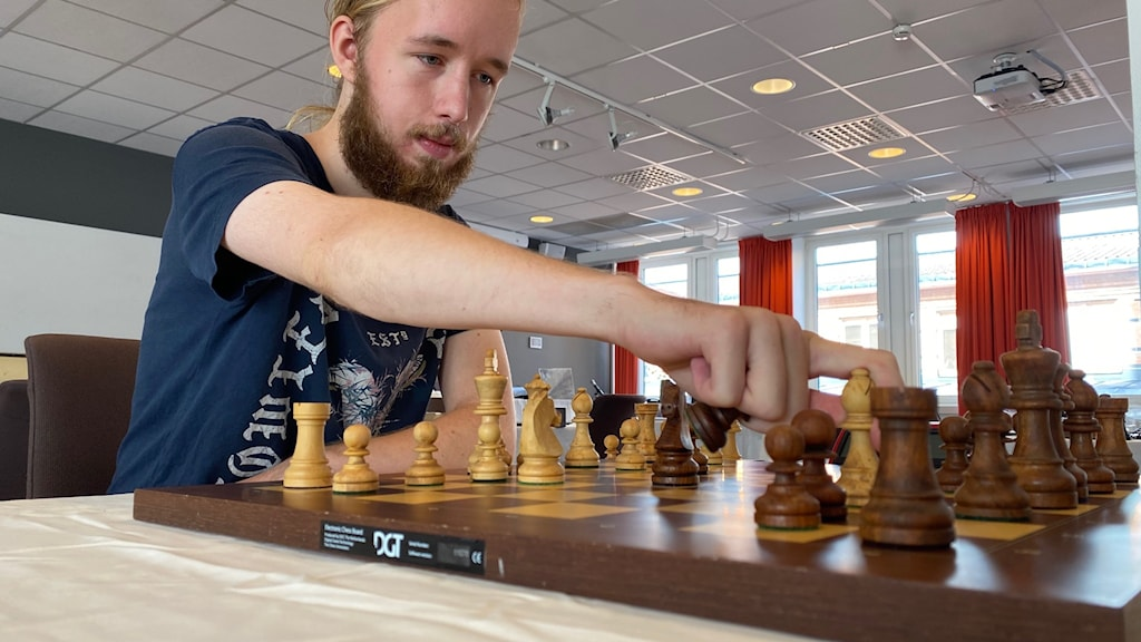 Joakim Nilsson tävlar i Uppsalas Schackfestival.