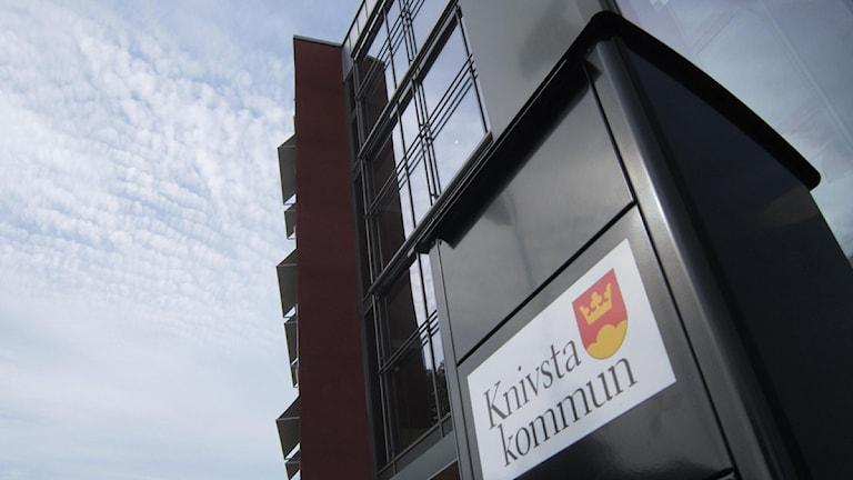 Knivsta kommunhus. Foto: Sanna Richter/Sveriges Radio