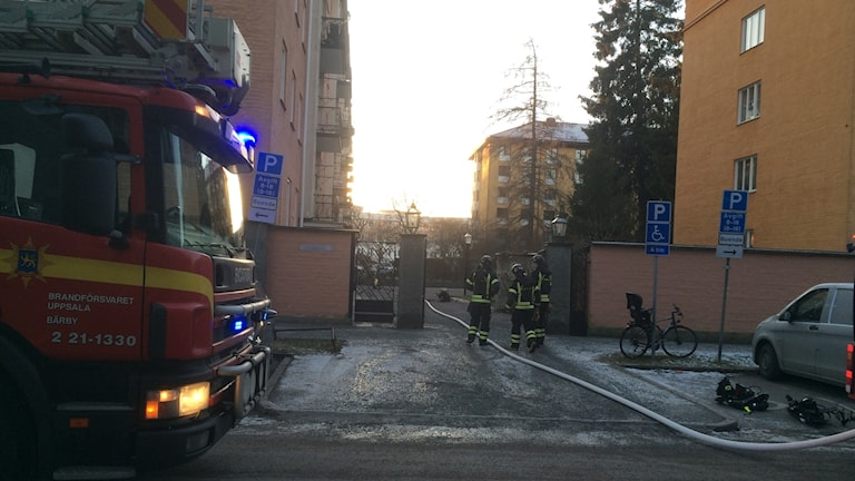 brand i luthagen 28 december