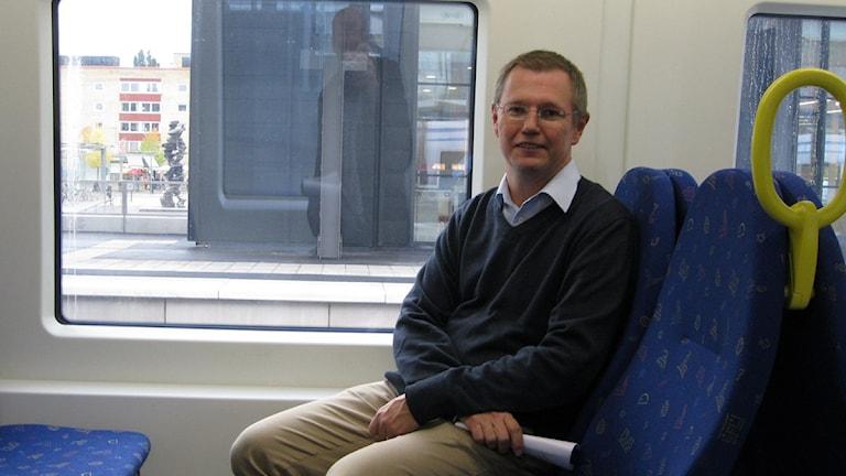 Johan Wadman trafikdirektör UL. Foto: Martin Hult/SR