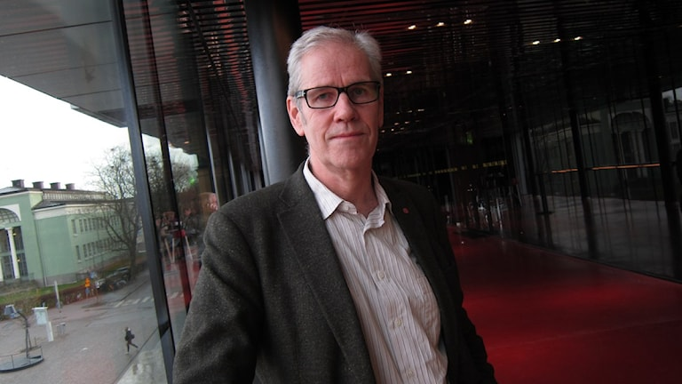 Börje Wennberg är finanslandstingsråd i Uppsala län för Socialdemokraterna. Foto: Martin Hult / Sveriges Radio