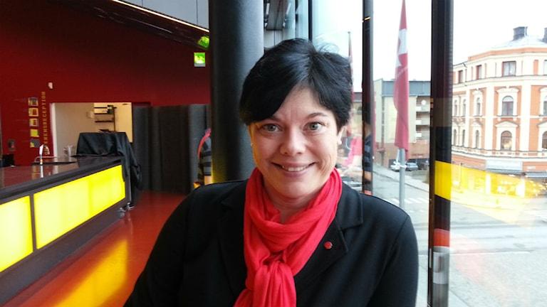 Marlene Burwick (S). Foto: Anton Dyrssen/SR.