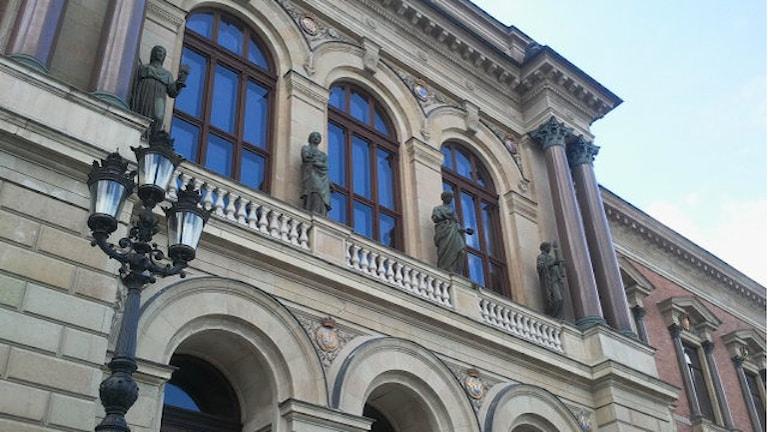 Uppsala Universitet. Foto: Cathrin Reth/SR