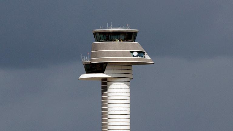 Flygledartornet på Arlanda. Foto: Johan Nilsson / Scanpix