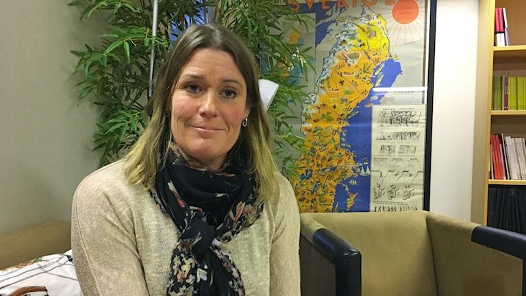 Ingela Grehn, vice ordförande Lärarförbundet i Uppsala.