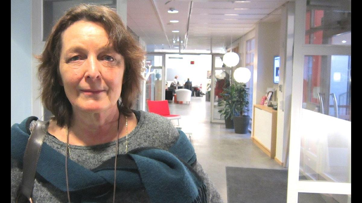 Maria Björk. Foto: Sanna Richter /SR