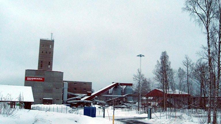 Dannemoragruvan. Foto: Niklas Norén/Sveriges Radio