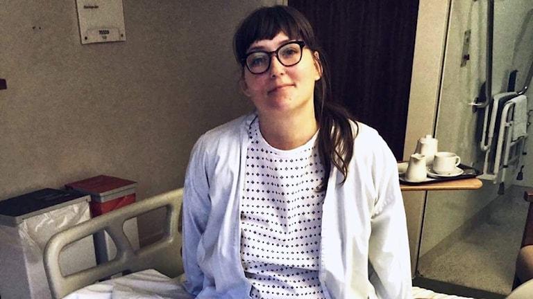Stina Birgegård opererar sin endometrios i London
