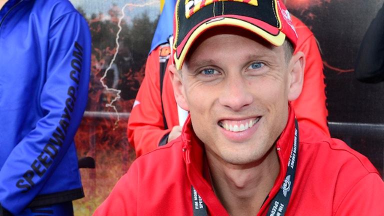 Speedwayföraren Andreas Jonsson. Foto: Mikael Fritzon/Scanpix